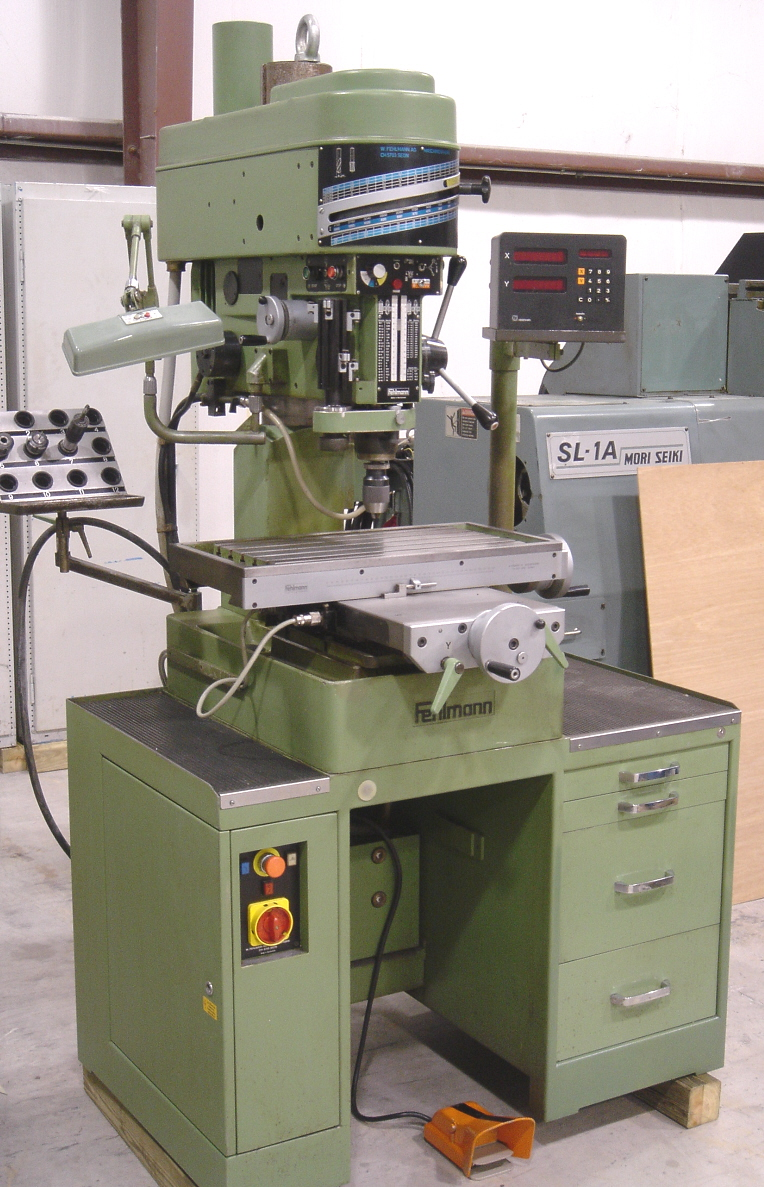 Fehlmann Milling Drilling Machines